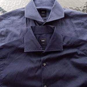 Hugo Boss Tailored Slim Fit Dress Shirts 38/15